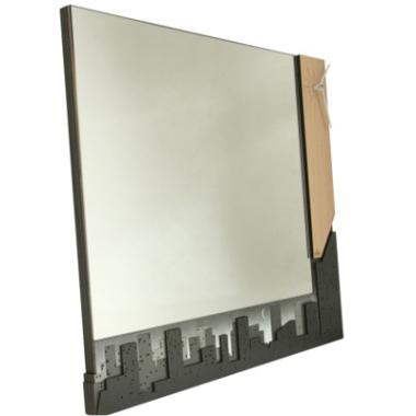 Specchio orologio Skyline