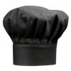 Cappello da chef nero