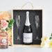 Cofanetto Champagne e bicchieri personalizzato matrimonio