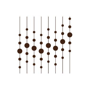 Stickers Anni '70 - 17 - pallini