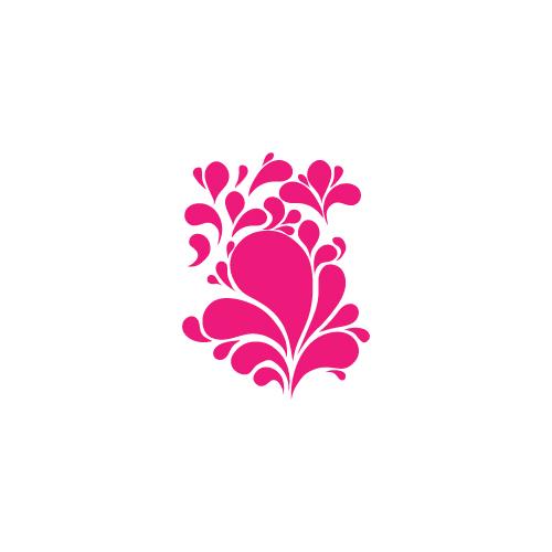 Stickers Anni '70 - 19 - fiore