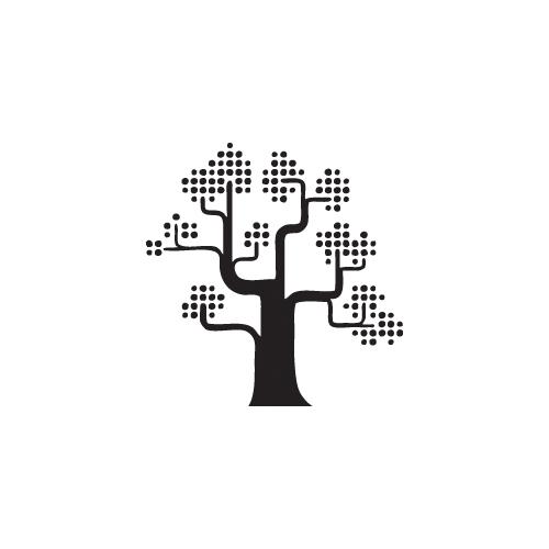Stickers Anni '70 - c2 - albero
