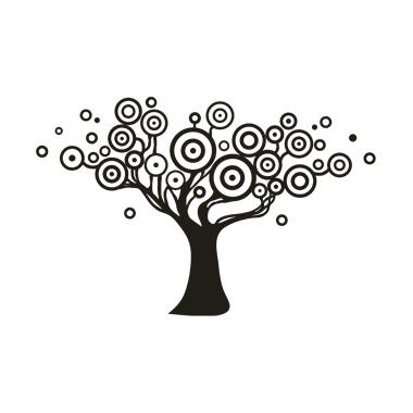Stickers Anni '70 - s1 - albero