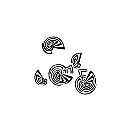 Stickers Anni '70 - conchiglie