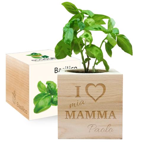 Ecocube personalizzato per la mamma