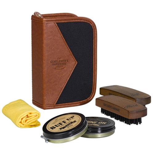 Kit lucidascarpe deluxe Gentlemen's Hardware