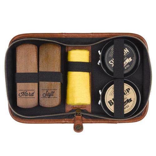 Kit lucidascarpe deluxe Gentlemen's Hardware confezione