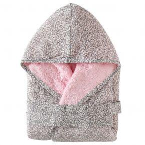Accappatoio per neonato personalizzato bambina