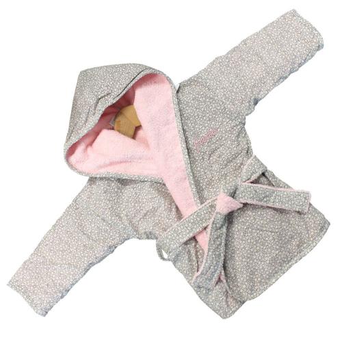 Accappatoio neonata personalizzato