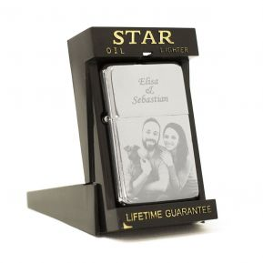 Accendino Star con foto personalizzata