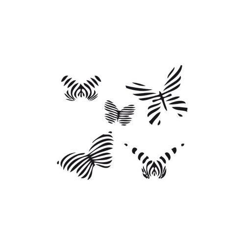 Sticker Farfalle rigate