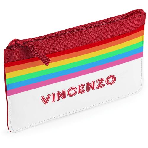 Astuccio arcobaleno personalizzabile