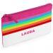 Astuccio arcobaleno personalizzabile con nome