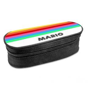 Astuccio ovale personalizzato arcobaleno
