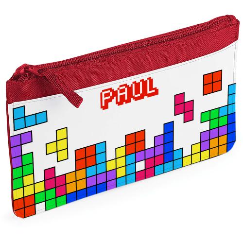 Astuccio portamatite tetris personalizzabile
