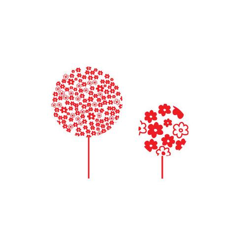 Sticker decorazione alberi