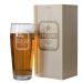 Bicchiere da birra con nome personalizzato