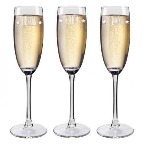 Flûte da champagne personalizzati