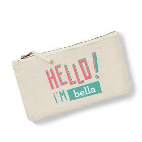 Borsello personalizzato HELLO
