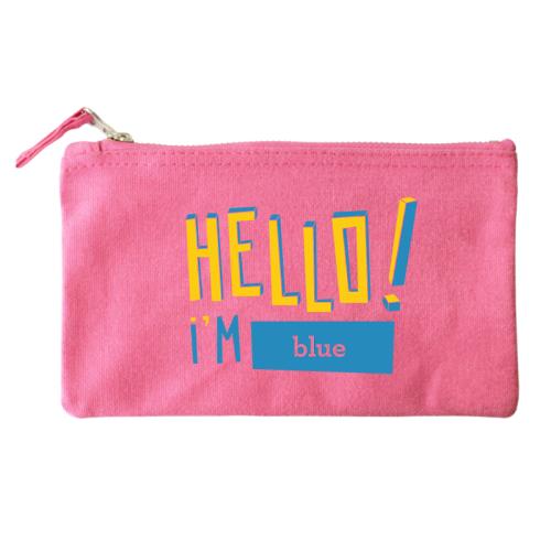 Borsello personalizzabile hello