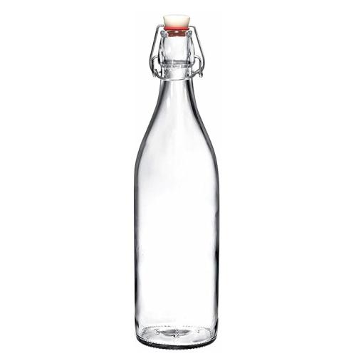 Bottiglia acqua in vetro personalizzata