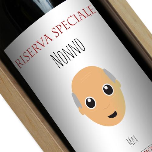 Bottiglia we are family personalizzata