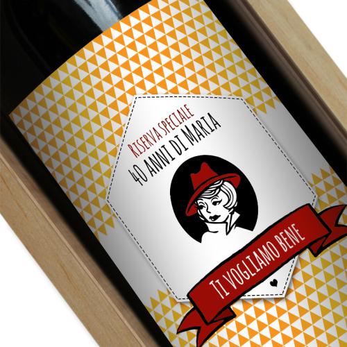 etichetta vino personalizzato marchio
