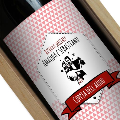 bottiglia vino personalizzato marca
