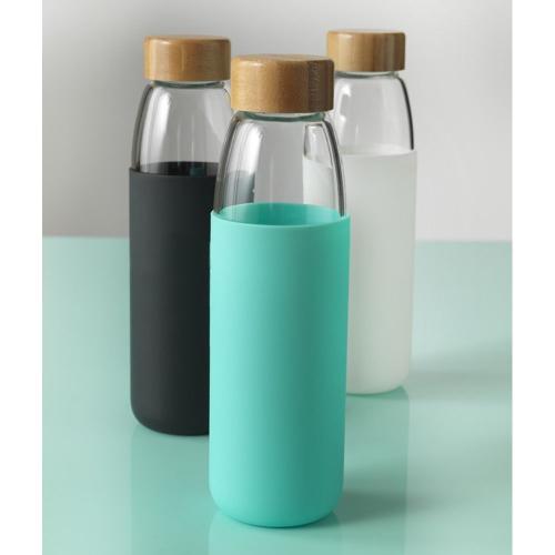 Bottiglia in vetro e silicone personalizzabile