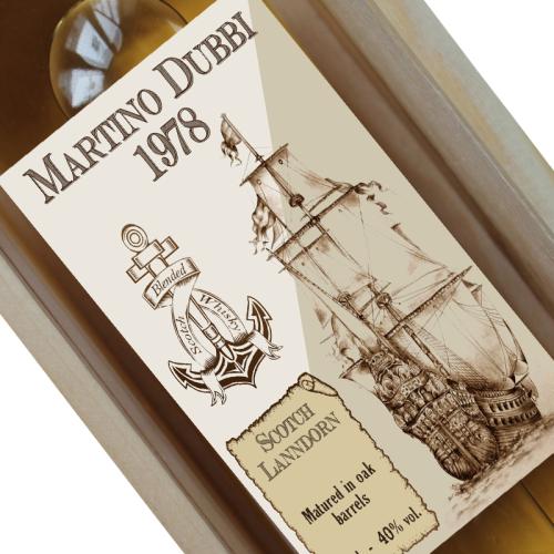 Bottiglia di whisky personalizzabile Old Navy