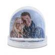 Palla di neve foto personalizzata