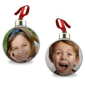 Palla di Natale con foto