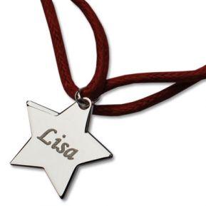 Braccialetto stella personalizzato