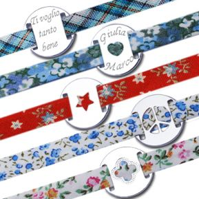 Braccialetto Liberty personalizzato