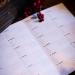 Calendario rum voti