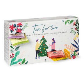 Calendario dell'avvento tè per due personalizzato