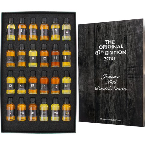 Calendario dell'avvento whisky