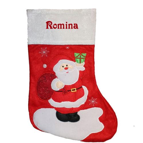 Calza Natale babbo regali