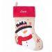 Calza natalizia bambino - pupazzo di neve