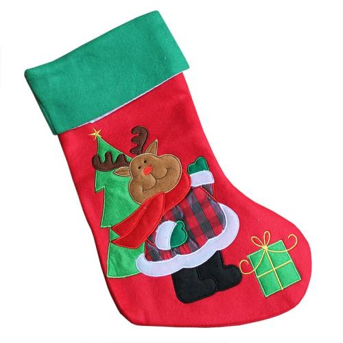 Calza natalizia renna