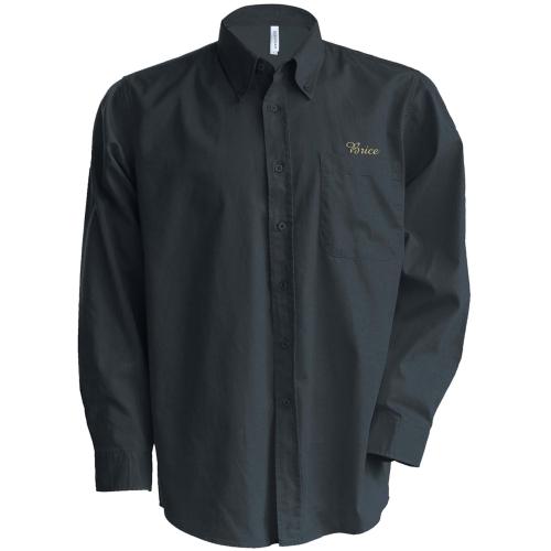 Camicia personalizzata con iniziali
