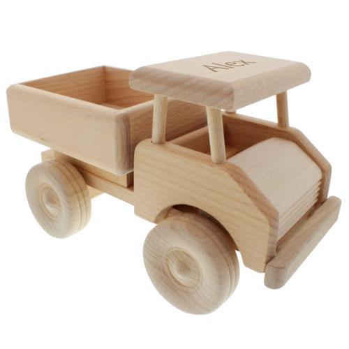 Camioncino di legno personalizzato
