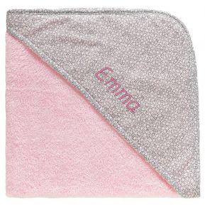 Asciugamano bagnetto bambina personalizzato