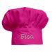 Cappello chef personalizzato bambino fucsia