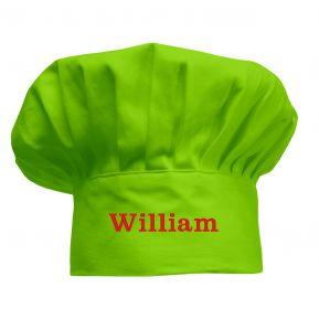 Cappello da chef per bambini personalizzato anice