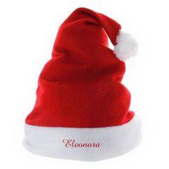 Cappello natalizio per bambini con nome