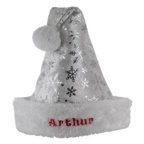 Cappello babbo Natale bambino con i fiocchi