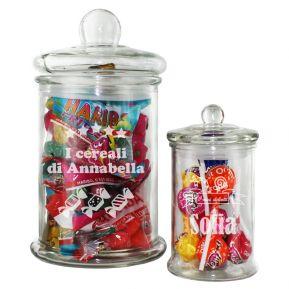 Barattolo di vetro per caramelle / cereali