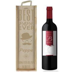 Cassa da vino papà