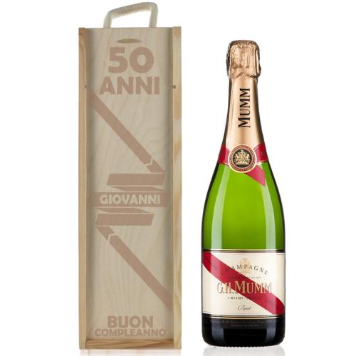 Cassa Champagne personalizzato compleanno